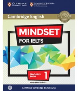Книга для вчителя Mindset for IELTS Level 1 Teacher's Book with Downloadable Audio