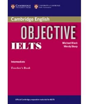 Книга для учителя Objective IELTS Intermediate Teacher`s Book
