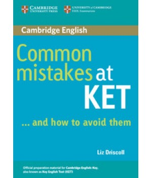 Підручник Common Mistakes at KET and how to avoid them Paperback
