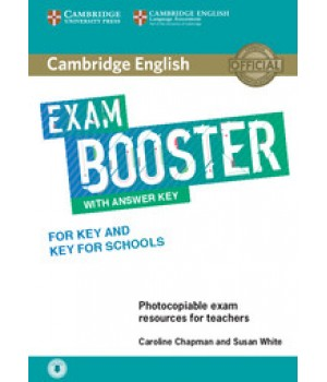 Підручник Exam Booster for Key and Key for Schools Book with Answer Key with Audio for Teachers
