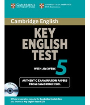 Тести Cambridge Key English Test 5 Student's Book with Answers and the Audio CD