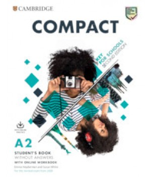 Підручник Compact Key for Schools Student's Book without Answers with Online Practice and Workbook without Answers with Audio Download 2nd Edition