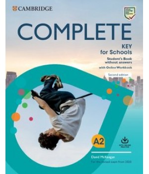 Підручник Complete Key for Schools Student's Book without answers with Online Workbook 2nd Edition