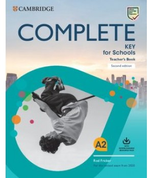Книга для вчителя Complete Key for Schools Teacher's Book with Downloadable Class Audio and Teacher's Photocopiable Worksheets 2nd Edition