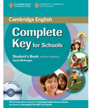 Учебник Complete Key for Schools Student's Pack (Student's Book + Workbook without answers with CD-ROM/CD