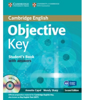 Учебник Objective Key Second Edition Student's Book with answers with CD-ROM