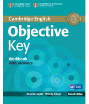 Робочий зошит Objective Key Second Edition Workbook with answers