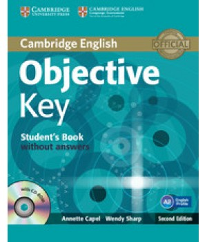 Учебник Objective Key Second Edition Student's Book without answers with CD-ROM