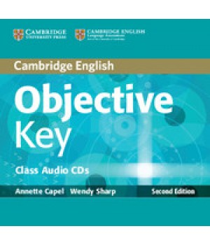 Диски Objective Key Second Edition Class Audio CDs (2)