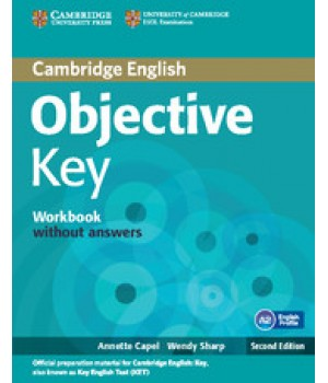 Рабочая тетрадь Objective Key Second Edition Workbook without answers