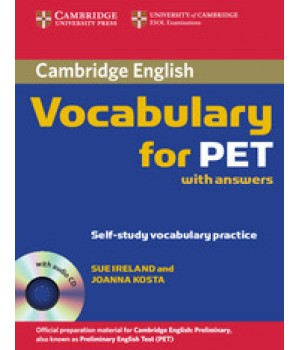 Підручник Cambridge Vocabulary for PET with Audio CD