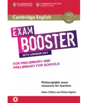 Підручник Exam Booster for Preliminary and Preliminary for Schools Book with Answer Key with Audio for Teachers