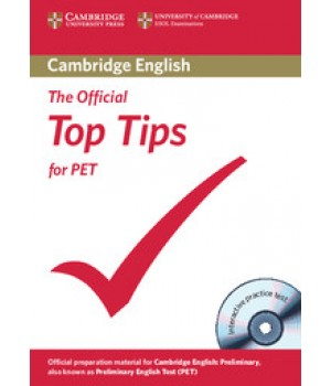 Підручник The Official Top Tips for PET Book with CD-ROM