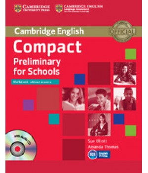 Робочий зошит Compact Preliminary for Schools Workbook without answers with Audio CD