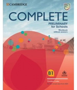 Робочий зошит Complete Preliminary for Schools Workbook without Answers with Audio Download