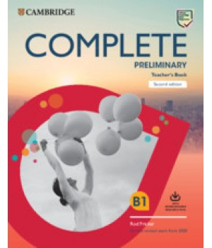 Книга для вчителя Complete Preliminary Teacher's Book with Downloadable Resource Pack