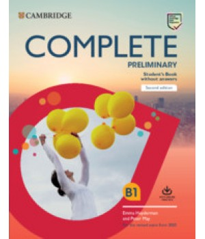 Підручник Complete Preliminary Student's Book without Answers with Online Practice