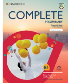 Підручник Complete Preliminary Student's Book with Answers with Online Practice