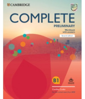 Робочий зошит Complete Preliminary Workbook with Answers with Audio Download