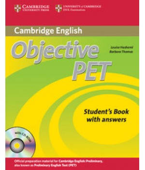 Підручник Objective PET Second Edition Student's Book with answers with CD-ROM