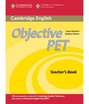 Книга для вчителя Objective PET Second Edition Teacher's Book