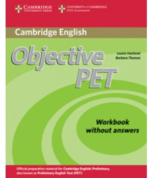 Робочий зошит Objective PET Second Edition Workbook without answers