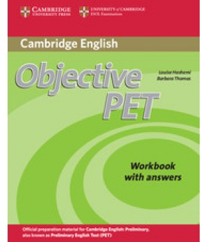 Робочий зошит Objective PET Second Edition Workbook with answers