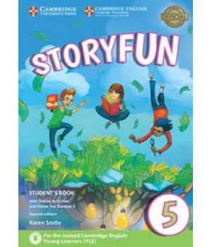 Підручник Storyfun for Flyers 2nd Edition Level 5 Student's Book with Online Activities and Home Fun Booklet