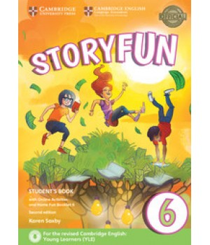 Підручник Storyfun for Flyers 2nd Edition Level 6 Student's Book with Online Activities and Home Fun Booklet