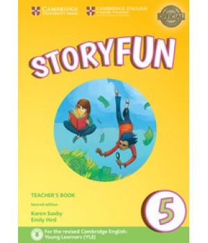 Книга для вчителя Storyfun for Flyers 2nd Edition Level 5 Teacher's Book with Audio