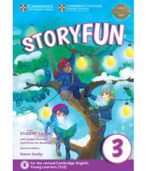 Підручник Storyfun for Movers 2nd Edition Level 3 Student's Book with Online Activities and Home Fun Booklet