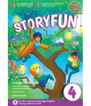 Підручник Storyfun for Movers 2nd Edition Level 4 Student's Book with Online Activities and Home Fun Booklet