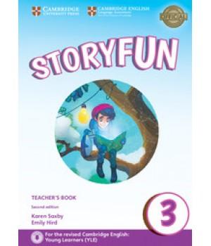 Книга для вчителя Storyfun for Movers 2nd Edition Level 3 Teacher's Book with Audio