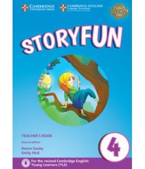 Книга для вчителя Storyfun for Movers 2nd Edition Level 4 Teacher's Book with Audio