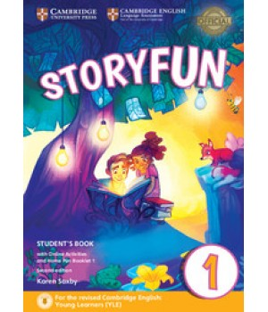 Підручник Storyfun for Starters 2nd Edition Level 1 Student's Book with Online Activities and Home Fun Booklet