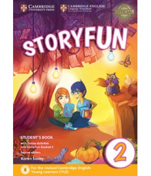Підручник Storyfun for Starters 2nd Edition Level 2 Student's Book with Online Activities and Home Fun Booklet