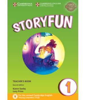 Книга для вчителя Storyfun for Starters 2nd Edition Level 1 Teacher's Book with Audio