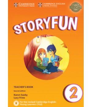 Книга для вчителя Storyfun for Starters 2nd Edition Level 2 Teacher's Book with Audio