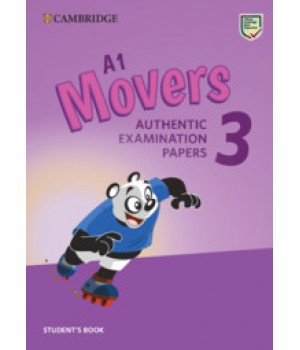 Тести Cambridge English movers 3 for Revised Exam from 3018 Student's Book