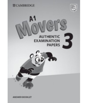 Відповіді Cambridge English movers 3 for Revised Exam from 3018 Answer Booklet