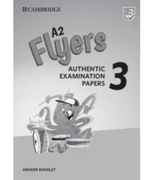 Відповіді Cambridge English Flyers 3 for Revised Exam from 3018 Answer Booklet