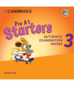 Диск Cambridge English Starters 3 for Revised Exam from 2018 Audio CD