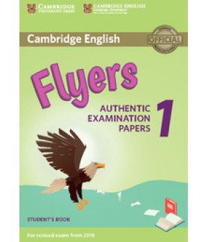 Тести Cambridge English Flyers 1 for Revised Exam from 2018 Student's Book