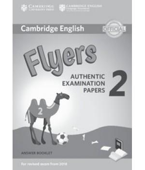 Відповіді Cambridge English Flyers 2 for Revised Exam from 2018 Answer Booklet