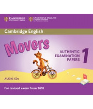 Диск Cambridge English movers 1 for Revised Exam from 2018 Audio CD