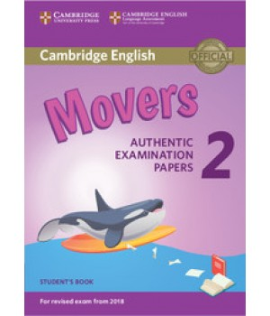 Тести Cambridge English movers 2 for Revised Exam from 2018 Student's Book