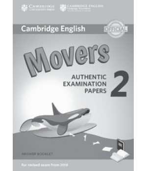 Відповіді Cambridge English movers 2 for Revised Exam from 2018 Answer Booklet