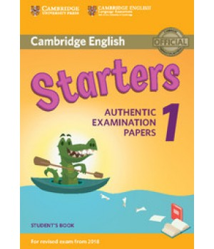 Тести Cambridge English Starters 1 for Revised Exam from 2018 Student's Book