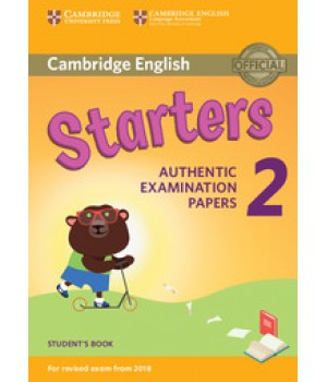 Тести Cambridge English Starters 2 for Revised Exam from 2018 Student's Book