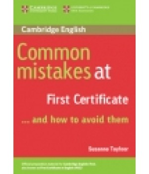 Підручник Common Mistakes at FCE and how to avoid them Paperback